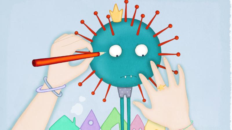 Il coronavirus con la comunicazione aumentativa